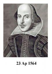 flash-card William Shakespeare