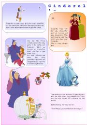 English Worksheet: Fairy Tale - Cinderella I 15-08-08