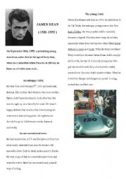 biography of James DEAN ( 1out of 2)