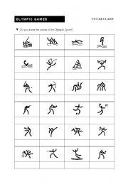 olympic sports esl worksheet by bruca. Black Bedroom Furniture Sets. Home Design Ideas