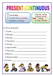 Worksheets English For Beginners Worksheets present continuous english for beginners