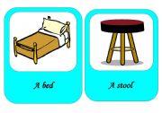 furniture flash cards 2 / 4
