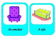 furniture flash cards