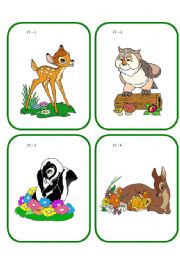 English Worksheets: Go Fish cards  4 (19.08.08)