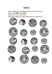 Coin Worksheets