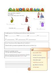 Fairy Talev-Cinderella - worksheet