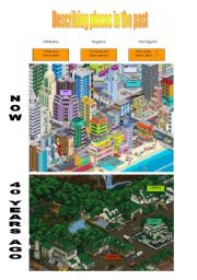 English Worksheet: Describing places in the past (21-08-2008)