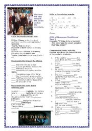 English Worksheets: Grammar Through Songs: Who I Am from Sue Thomas F.B.EYE