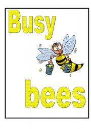 Busy Bees-display