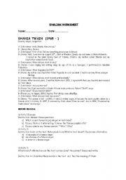 English Worksheets: interviews