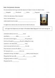 English Worksheets: Movie: The Spiderwick Chronicles - with keys
