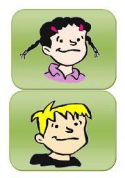 English Worksheet: Family flashcards