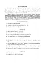 English Worksheets: Antonio & Melanie
