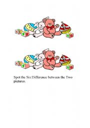 English Worksheets: Difference
