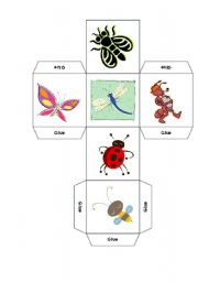 English Worksheet: BUGS - INSECTS