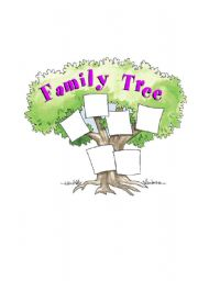 family tree for family nouns level elementary age 6 10