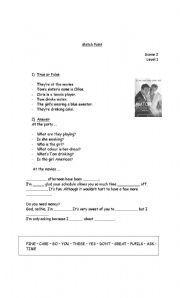 English Worksheets: matchpoint -movie