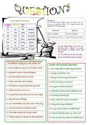 English Worksheets: Questions (1)