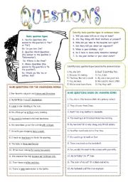 English Worksheets: Questions (2)