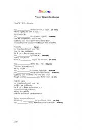 English Worksheet: Song - Fingertips by Roxette