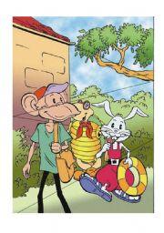 English Worksheets: make pazzle animals