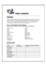 English worksheet: Sinbad