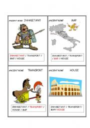 English Worksheet: Ancient civilizations ROME   Set  2/  5