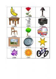 English worksheet: Random Things