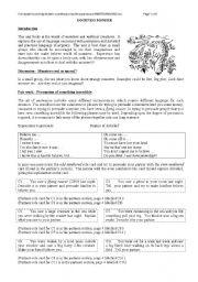 English worksheet: Loch Ness Monster - Speaking activities