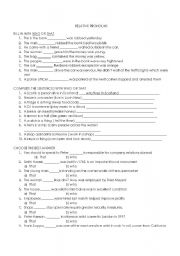 relative pronouns worksheet by elish hernandez. Black Bedroom Furniture Sets. Home Design Ideas