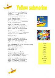 MUSIC: yellow Submarine - The Beatles