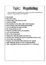 Printables Negotiation Worksheet negotiation worksheet imperialdesignstudio level elementary age 13 17 downloads 31 negotiation