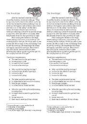 English Worksheets: The Envelope (joke)