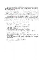 English Worksheets: Chess