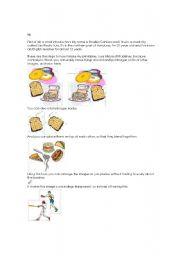 English Worksheet: Printable Making Tutorial