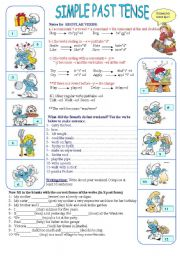 comment on this picture past simple continuous worksheets comment on