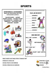 SPORTS QUIZ - ESL worksheet by teacher_debbie