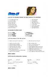 English Worksheets: RIHANNA -