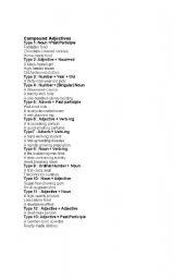 compounds adjectives