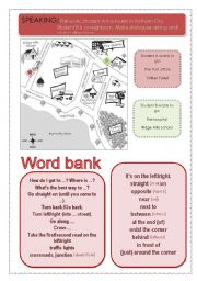 English Worksheets: getting around lesson 2