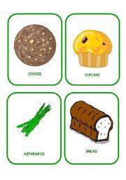 English Worksheet: FOOD FLASHCARDS 5