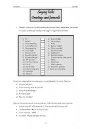 English Worksheets: basic english for adults