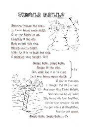 English Worksheet: Christmas - Jingle bells
