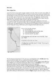 English Worksheet: Ancient Egypt