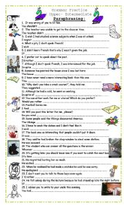 Printables Paraphrasing Worksheets english worksheets paraphrasing paraphrasing