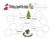 English Worksheet: Christmas Around the World (part 2)