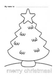 Draw your ornaments