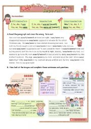 English Worksheets: VERB TO BE - SIMPLE PAST (1/2)