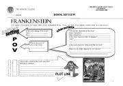 English Worksheets: frakenstein