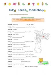 English Worksheets: WH - forms